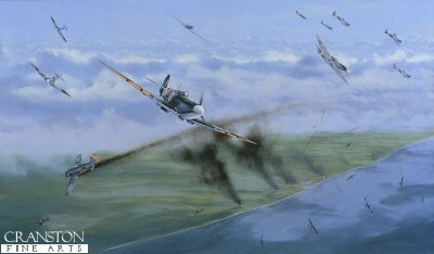 The Battle for the Skies Over Dieppe, 19th August 1942 by Graeme Lothian.