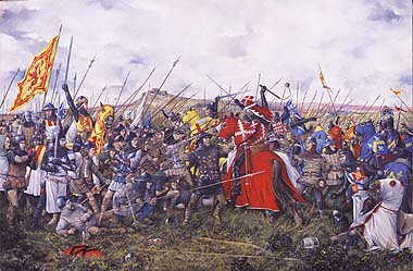 The Battle of Bannockburn by Brian Palmer. (XX)