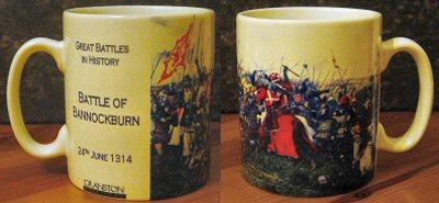 The Battle of Bannockburn by Brian Palmer. (SM)