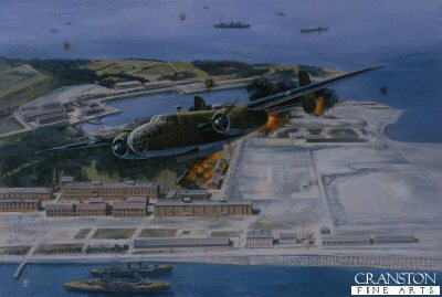 Doolittle Raider, Tokyo, April 18th 1942 by David Pentland.