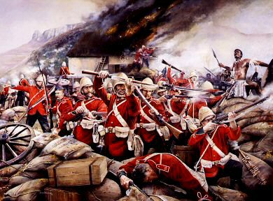 This Heroic Little Garrison, defence of Rorkes Drift by Chris Collingwood.