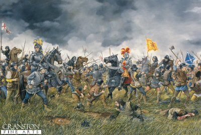 Battle of Flodden  9th september 1513 by Brian Palmer.