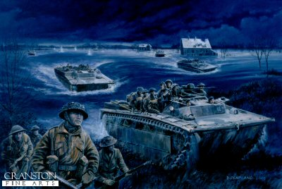Operation Veritable, Eastern Holland, 8th - 22nd February 1945 by David Pentland.