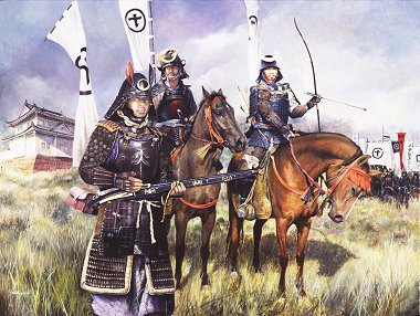 Samurai  Warriors by Chris Collingwood (GS)