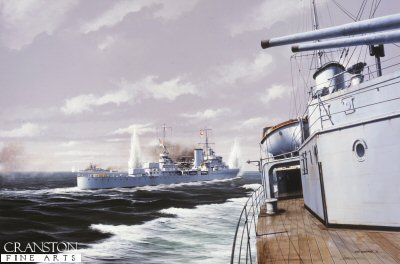 The Pursuit of the Graf Spee by Ivan Berryman.
