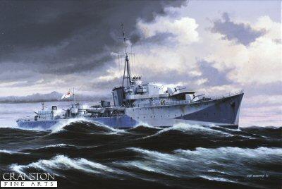 HMS Onslaught by Ivan Berryman (AP)