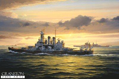 Arctic guardian - USS Washington by Anthony Saunders