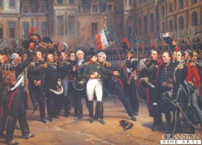 Les Adieux de Fontainebleau by Horace Vernet.