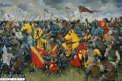 Battle of Crecy by Brian Palmer. (XX)