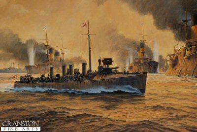 Battle of Tsushima by Anthony Saunders.