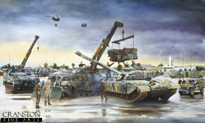 2nd Battalion, Reme by David Rowlands.