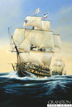 HMS Victory by Randall Wilson.