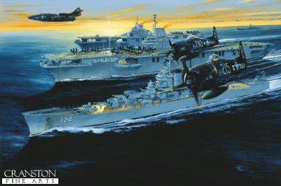 USS Kearsarge by Randall Wilson.