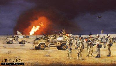 Operation TELIC, Iraq by David Rowlands.