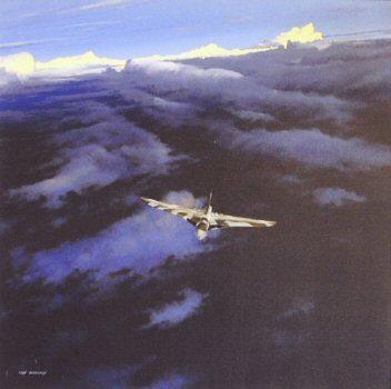 Vulcan B.2, 50 Sqn, Waddington by Ivan Berryman. (P)