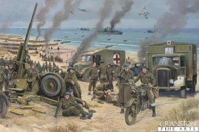 Operation Dynamo, Dunkirk, France 24th May - 4th June 1940 by David Pentland.