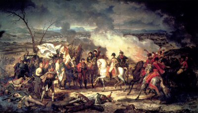 The Battle of Austerlitz by Carl Vernet. (B)