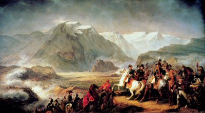 The Battle of Rivoli by Carl Vernet.