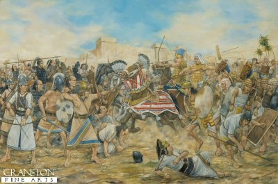 The Battle of Kadesh - circa 127 BC by Brian Palmer.
