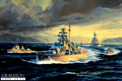 Bismarck - The Final Voyage by Anthony Saunders.