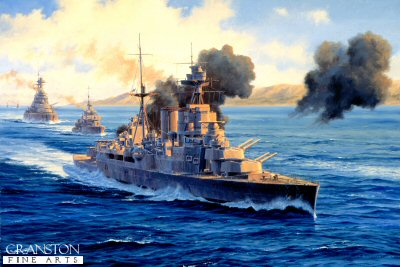 HMS Hood - Operation Catapult by Anthony Saunders