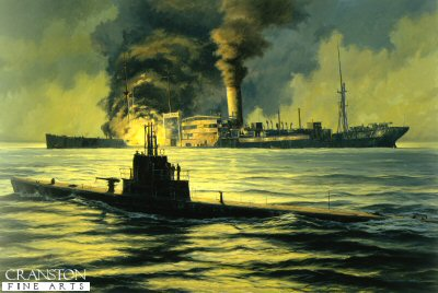 Night of the Hunter, USS Wahoo by Anthony Saunders.