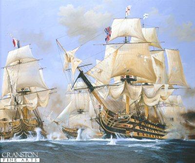 Nelsons Day, Battle of Trafalgar by Randall Wilson.