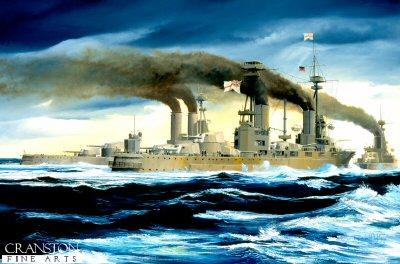 HMS Agincourt by Randall Wilson. (GS)