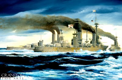 HMS Agincourt by Randall Wilson.