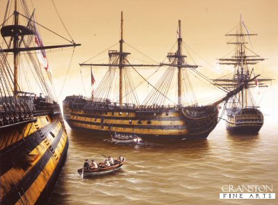 Trafalgar Aftermath  by Ivan Berryman. (GS)