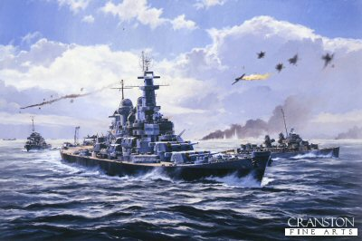 Boiling Point - USS Missouri  by Anthony Saunders. (GS)
