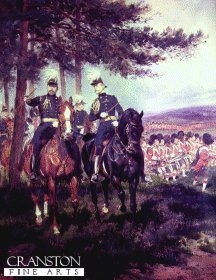 Manoeuvres at Aldershot by Edouard Detaille (B)