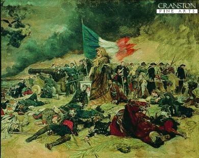 The Siege of Paris by Jean Louis Ernest Meissonier. (GS)
