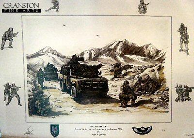 SAS Airstrike by Nigel R Appleby.