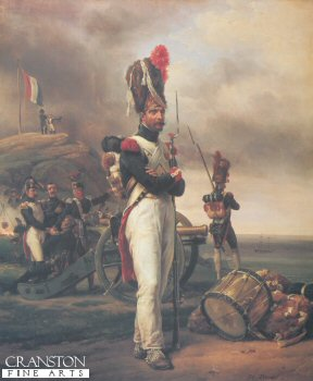 A Grenadier of the Guard at Elba by Horace Vernet (B)