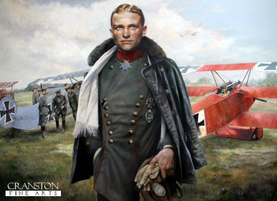 Baron Von Richthofen, March 1918 by Chris Collingwood.