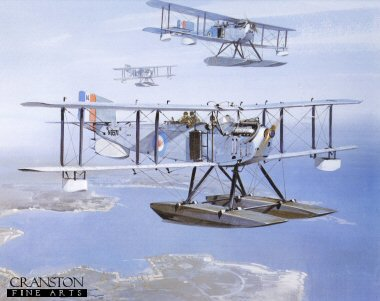 DHM1468.  Fairey IIID by Michael Turner. <p> Fairey IIIDs served from 1924 to 1930.  It could be used either as a seaplane or landplane, and was employed as both.  It mainly served in the Middle East and home waters, but was used for a great number of roles throughout its service.  In all, 227 Fairey IIIDs were built. <p><b>Published in 1979.  We have the last 100 prints of this edition which is sold out at the publisher.</b><b><p> Open edition print.  <p>Image size 11 inches x 9 inches (28cm x 23cm)