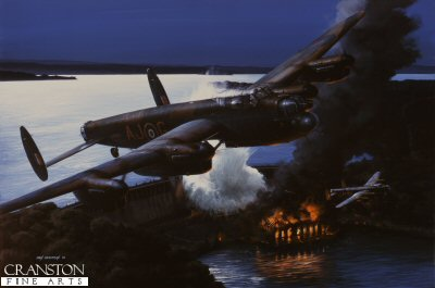 Operation Chastise - The Night They Broke the Dams by Ivan Berryman.