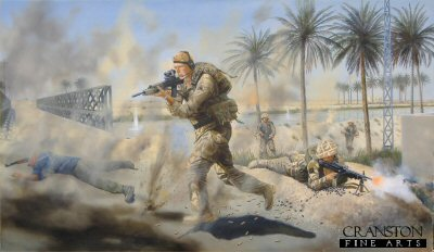 Corporal S G Jardine CGC by David Rowlands.