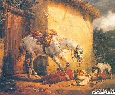 The Dead Trumpeter by Horace Vernet. (Y)