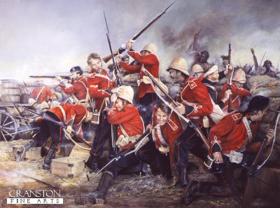 Stand Firm the 24th (Rorkes Drift) by Chris Collingwood. (XX)