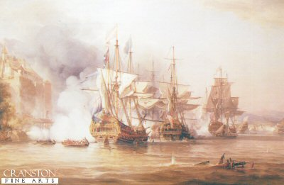 Capture of Puerto Bello by George Chambers (B)