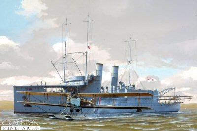 HMS Pegasus by Ivan Berryman. (GL)