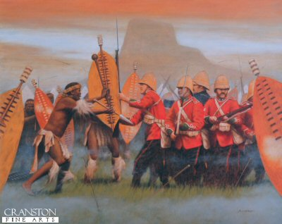 Isandhlwana 22nd January 1879 by Stuart Liptrot.