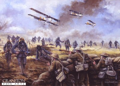 The Kaisers Battle, Operation Michael, France, 21st March 1918 by David Pentland. (PC)