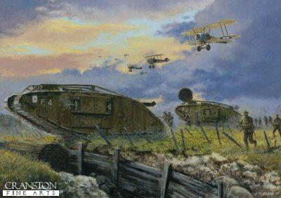 Battle of Cambrai, France, 20th November 1917 by David Pentland. (PC)