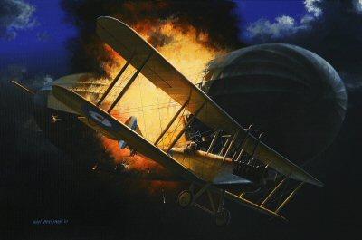 William Leefe-Robinson by Ivan Berryman.