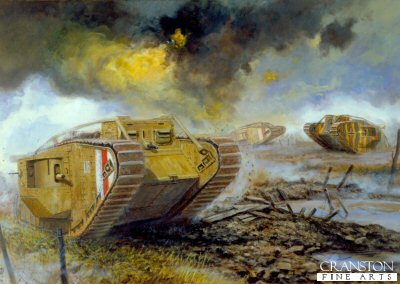 Unexpected encounter at Niergnies, France, 8th October 1918 by David Pentland. (PC)