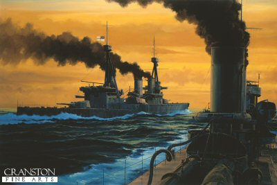 HMS Invincible - The Dawn of Jutland by Anthony Saunders.