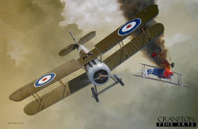 Major William Barker VC, DSO - Nearly an Ace in a Day by Ivan Berryman. (GL)
